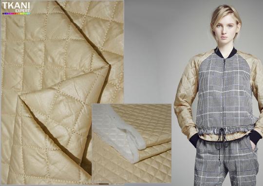 стеганая курточная ткань
